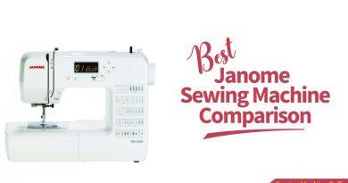 best janome sewing machine comparison
