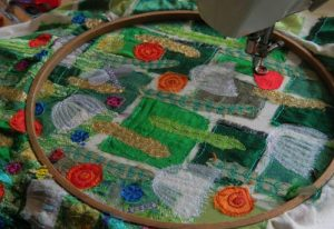can you embroider with a sewing machine