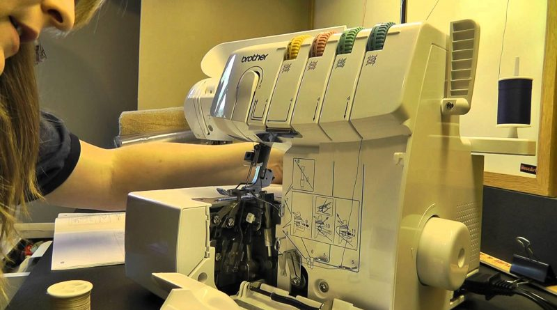 How to Hem a T-shirt With a Serger