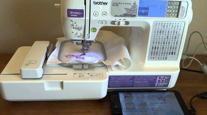 Brother Se400 Computerized Sewing Embroidery Machine Review