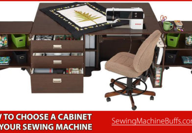 How to Choose a Cabinet for your Sewing Machine
