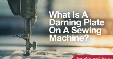 What Is A Darning Plate On A Sewing Machine