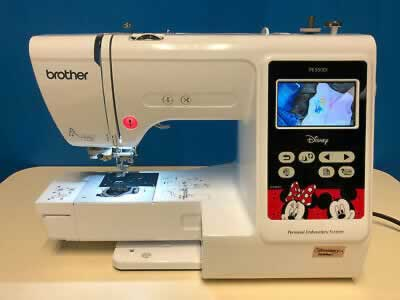 Brother PE550D Embroidery Only Machine