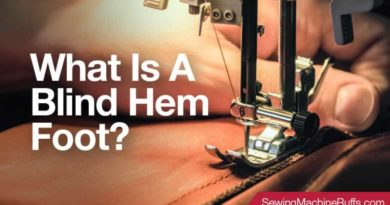 What Is A Blind Hem Foot