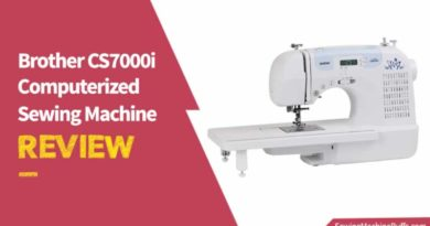 Brother CS7000i Computerized Sewing Machine Review