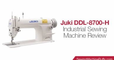 Juki DDL-8700-H Industrial Sewing Machine Review