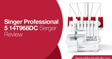 Singer Professional 5 14T968DC Serger Review