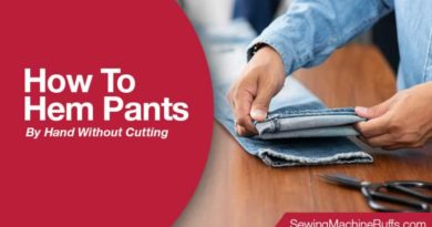 How To Hem Pants By Hand Without Cutting