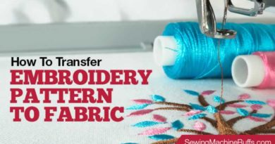 How To Transfer Embroidery Pattern To Fabric