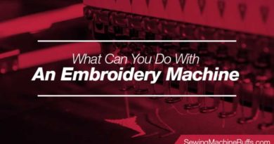 What Can You Do With An Embroidery Machine