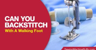 Can You Backstitch With A Walking Foot