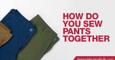 How Do You Sew Pants Together
