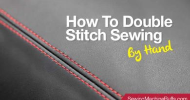 How To Double Stitch Sewing By Hand