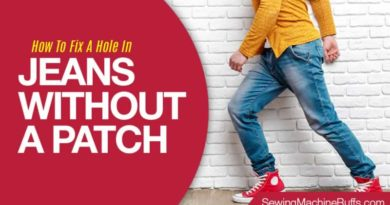 How To Fix A Hole In Jeans Without A Patch