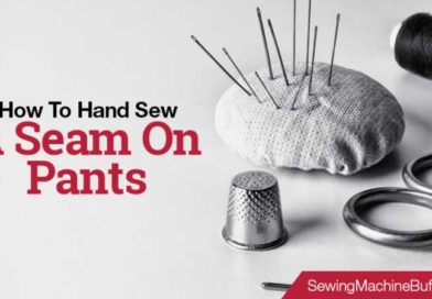 How To Hand Sew A Seam On Pants