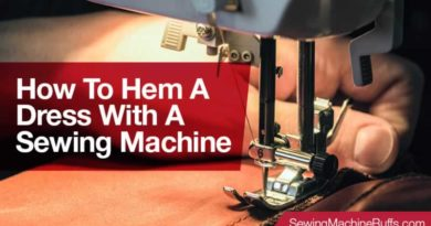 How To Hem A Dress With A Sewing Machine