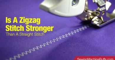 Is A Zigzag Stitch Stronger Than A Straight Stitch