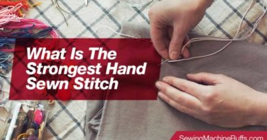 What Is The Strongest Hand Sewn Stitch
