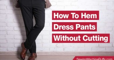 How to Hem Dress Pants Without Cutting