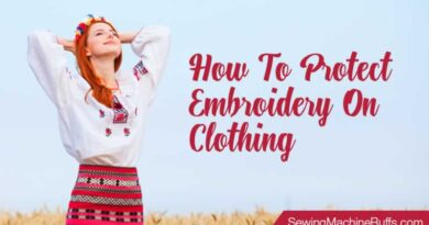 How to Protect Embroidery on Clothing