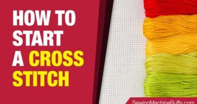 How to Start A Cross Stitch