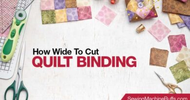 How Wide to Cut Quilt Binding