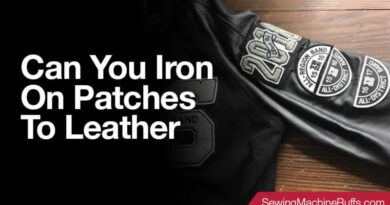 Can You Iron On Patches to Leather