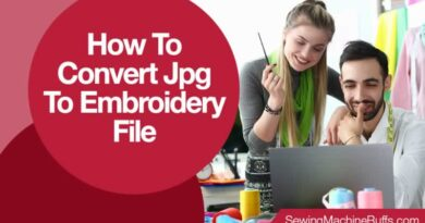 How To Convert Jpg To Embroidery File