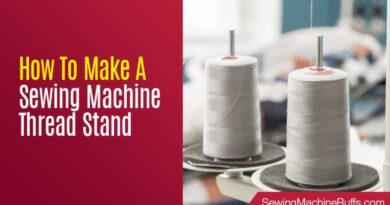 How To Make A Sewing Machine Thread Stand