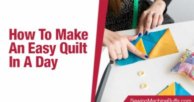 How To Make An Easy Quilt In A Day
