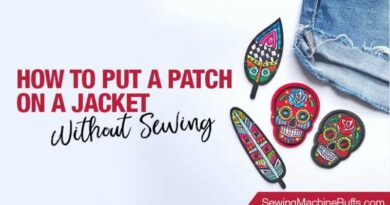 How To Put A Patch On A Jacket Without Sewing