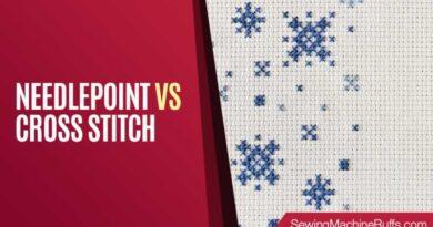 Needlepoint vs Cross Stitch