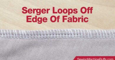 Serger Loops off Edge of Fabric – Causes & Solutions