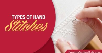 Types Of Hand Stitches