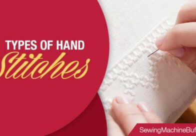 6 Types of Hand Stitches