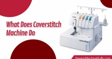 What does Coverstitch Machine Do