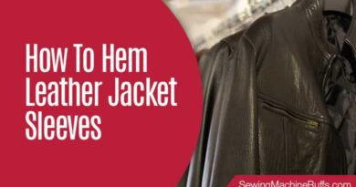 How To Hem Leather Jacket Sleeves