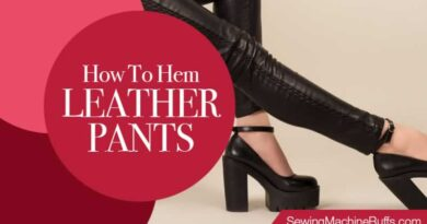 How To Hem Leather Pants