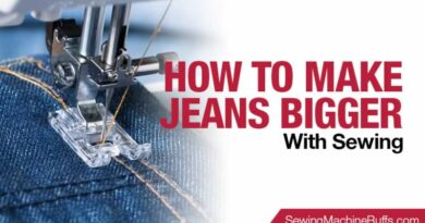 How to Make Jeans Bigger With Sewing