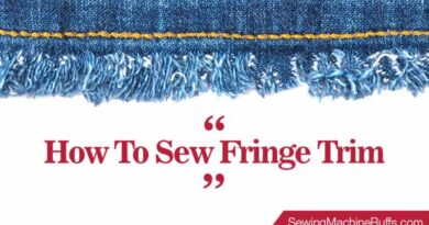 How To Sew Fringe Trim