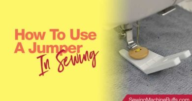How to Use a Jumper in Sewing