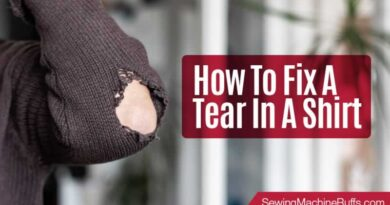 How to Fix a Tear in a Shirt