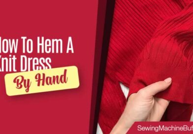 How To Hem A Knit Dress By Hand
