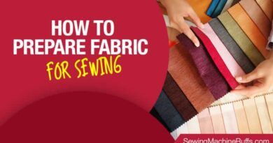 How To Prepare Fabric For Sewing