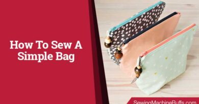 How To Sew A Simple Bag