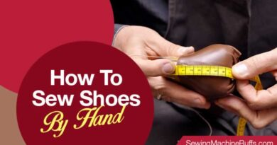 How To Sew Shoes By Hand