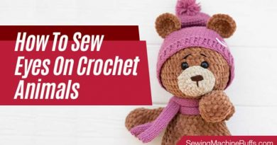 How to Sew Eyes on Crochet Animals
