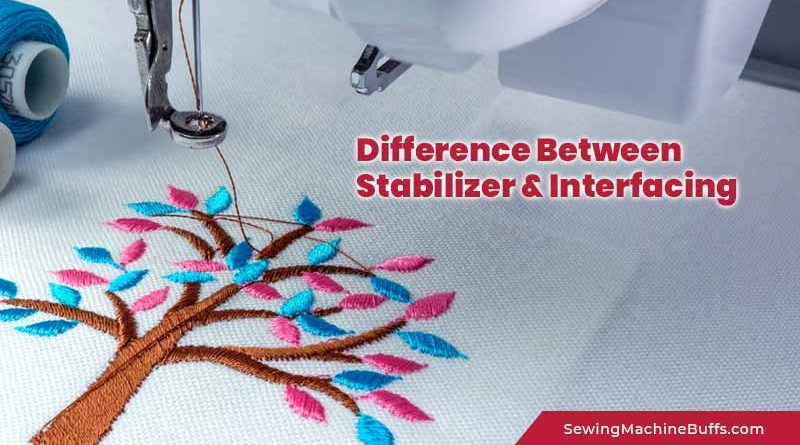 Differences between Stabilizer and Interfacing
