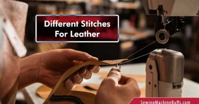 Different Stitches For Leather