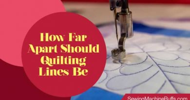 How Far Apart Should Quilting Lines Be